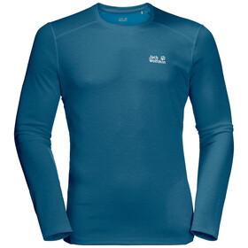 Jack Wolfskin Sky Range Koszulka z długim rękawem Mężczyźni, dark cobalt